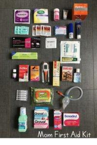 Wondering what to bring in your travel first aid kit? Here is my first aid checklist for the best family first aid kit. From snot-suckers to antidiarrheals, this kit has got you covered! There is no such thing as being over-prepared when it comes to traveling with little ones. Click through for the contents of my children's medical kit.