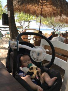 What to pack for the beach with kids: Diono Fan