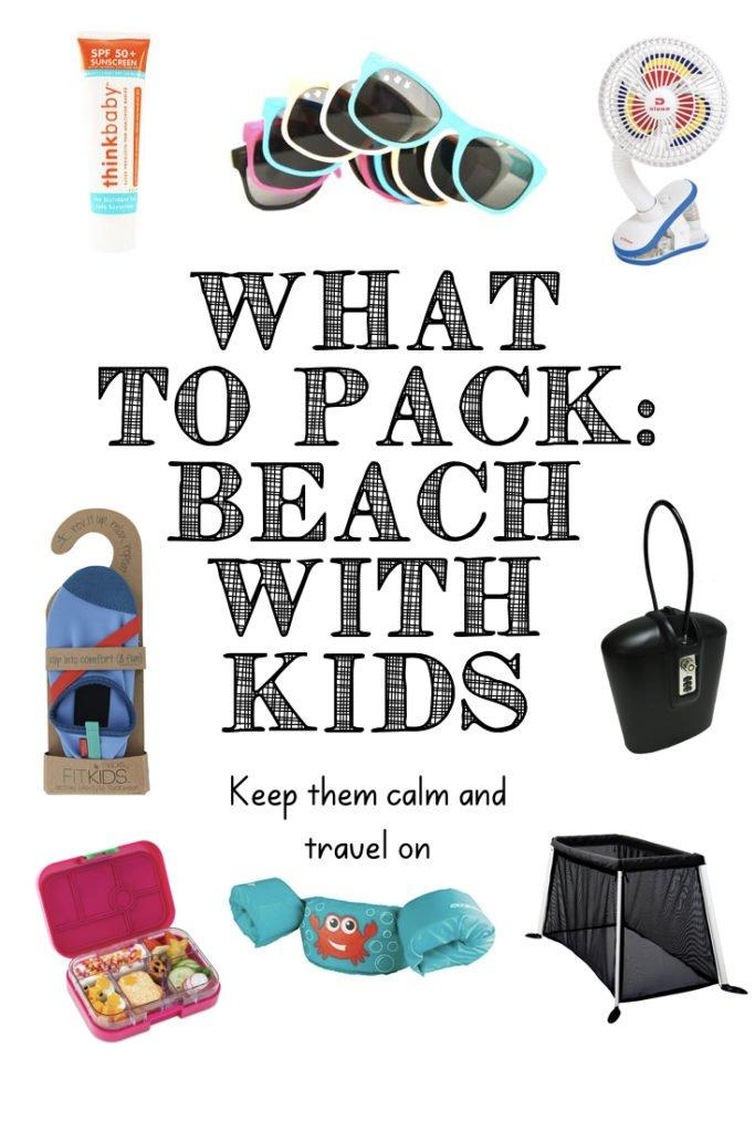 Looking for ideas of what to pack with kids at the beach? I've compiled this list of the best toddler beach gear and beach hacks I've used with my kids at the beach. I review essential beach gear like the best beach tent, kids sunscreen, beach shoes and beach safe. Check out this family beach checklist and kids beach tips! Click through for the ultimate beach packing list with a free printable pdf! #beach #toddler #baby #vacation #beachvacation