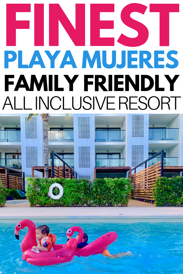 Looking for the best all inclusive resort in mexico? This family friendly all inclusive resort is perfect for your next all inclusive vacation! Finest playa mujeres resort is hands down our favourite all inclusive resort in Mexico. This resort puts families first with a variety of amazing amenities for kids. With great food, modern design and lots of entertainment, you'll love this amazing resort. Check out our super detailed review of Finest resort in Playa Mujeres Mexico.