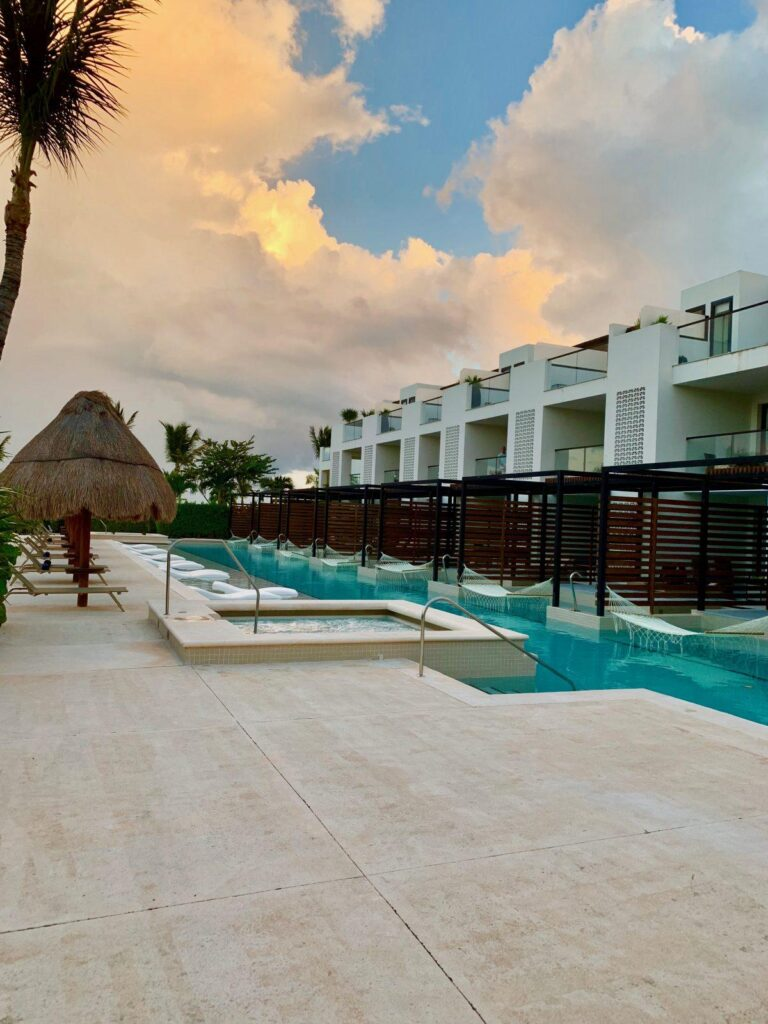 Swim Up Rooms at Finest Playa Mujeres