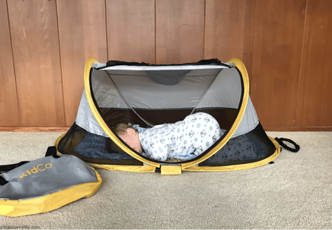 Peapod Toddler Travel Bed