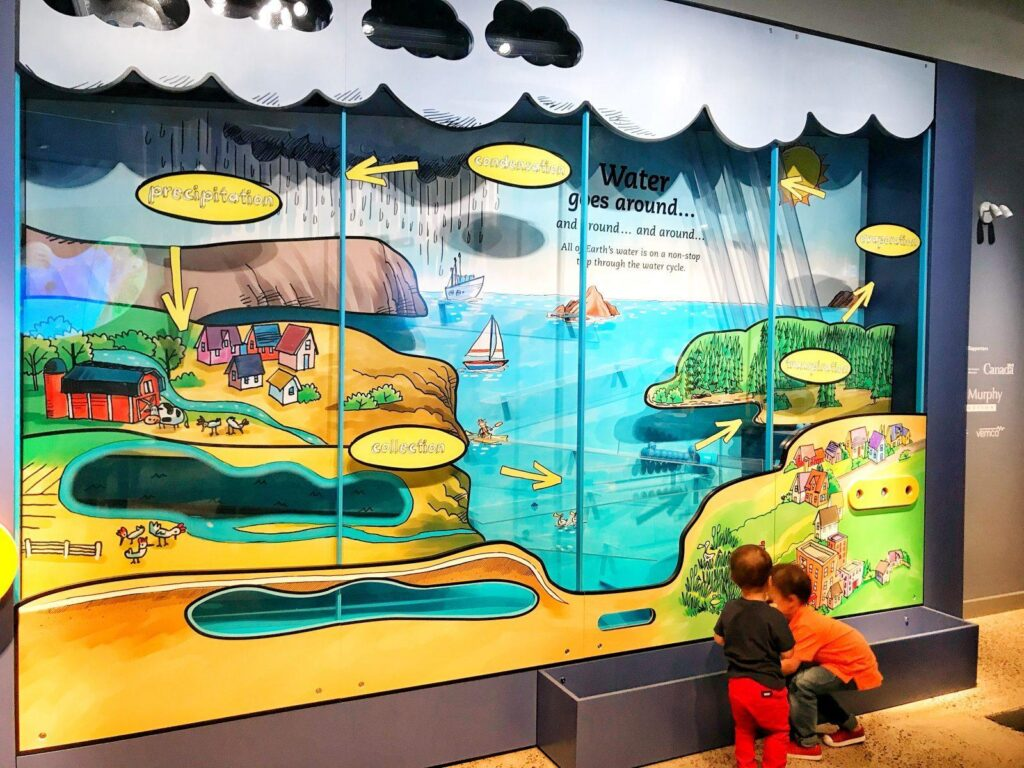 Halifax with kids: discovery centre