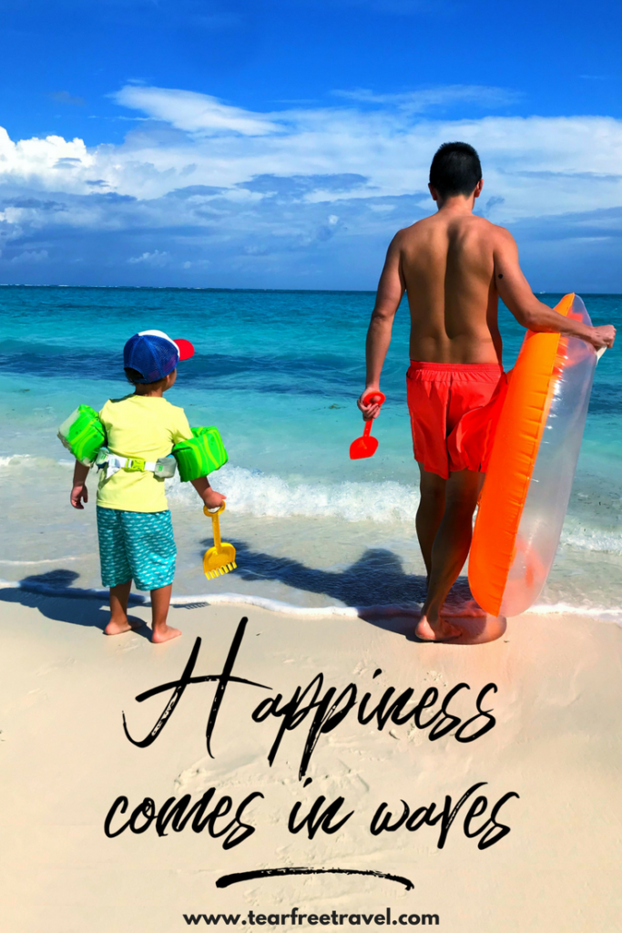 Inspirational Travel Quotes - Happiness comes in waves! Travel inspirational quotes for an avid traveler. These inspirational quote are perfect for any traveler! #quotes #travel #inspirational quotes