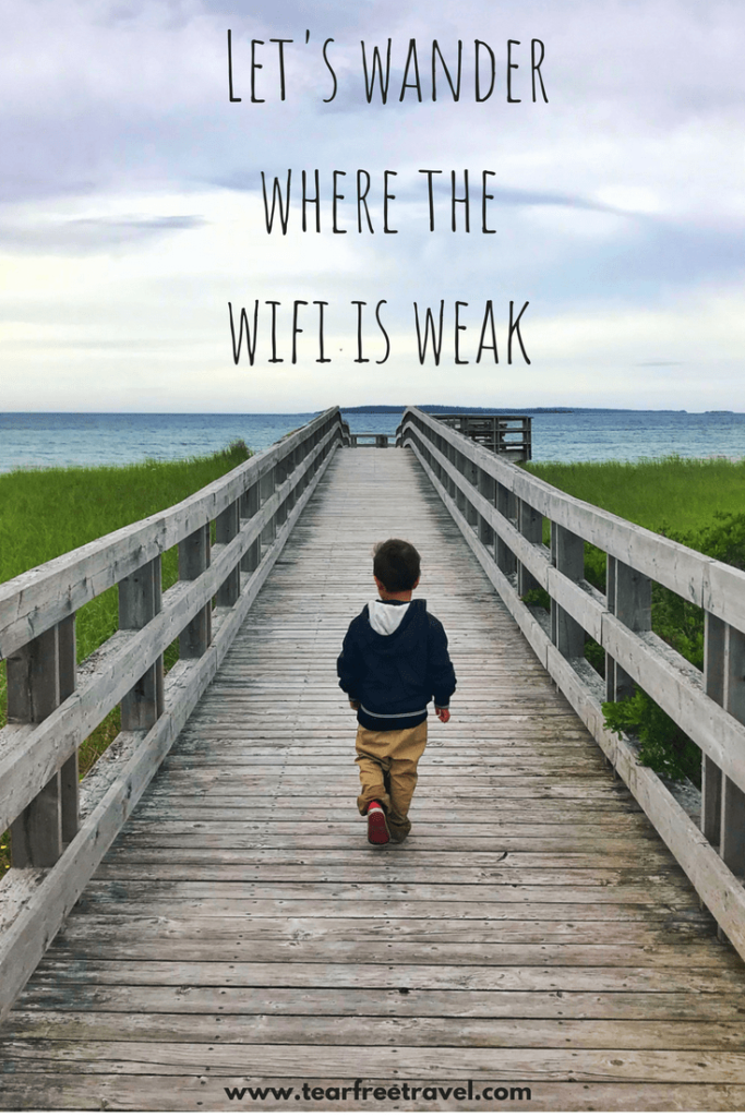 """Inspiring Travel Quotes for travellers! 75 quotes to fuel your wanderlust. Happiness quotes and meaningful quotes about traveling! Pin these inspirational messages for later. """"Let's wander where the wifi is weak"""" #quotes #inspirationalquotes #travel"""