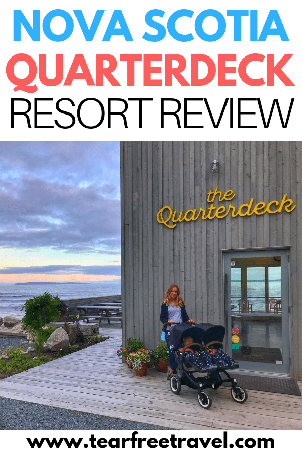 Looking for a perfect Canadian vacation? Look no further than Nova Scotia! Here's our review of the Quarterdeck Resort in Nova Scotia. A perfect little resort on the beautiful expansive shoreline of Nova Scotia. This Nova Scotia resort has a lot of great value for families and is perfect for a Canada summer vacation. Check out all that Nova Scotia has to offer with this awesome family friendly resort!
